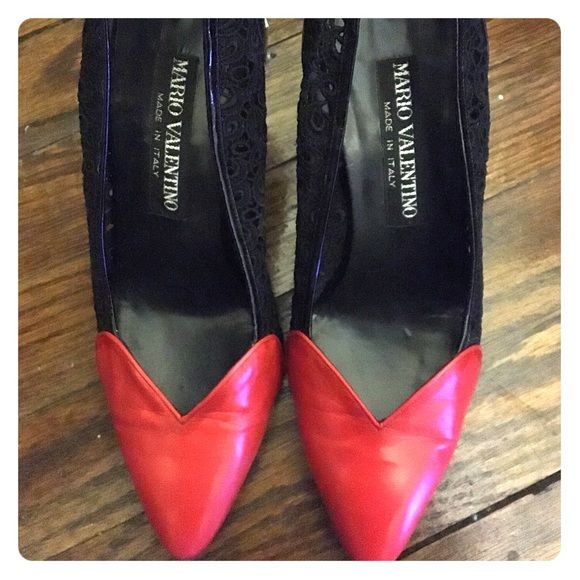 Red Antonio Melani Shoes Pair