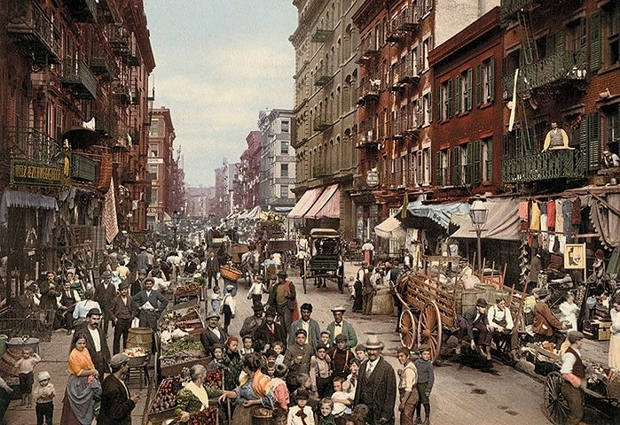 Colour-tinted photographs of North America – in pictures
