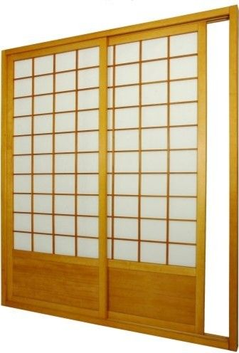 Shoji Sliding Door Kit Room Divider asian screens and wall