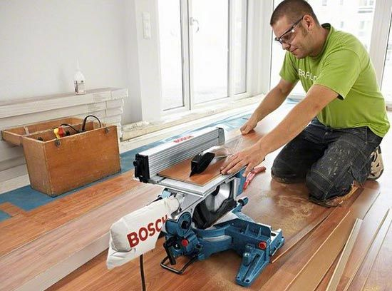 Bosch (UK) GTM12 Pro Miter Table Saw Combo | ToolGuyd | Woodworking ...