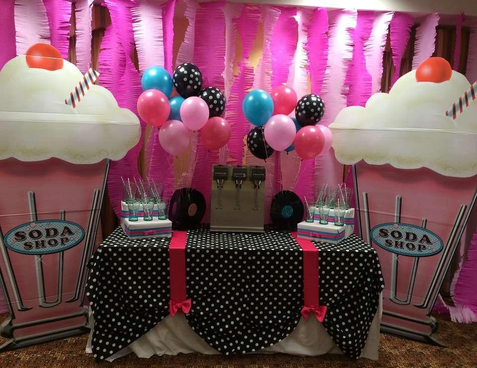 50 39 s theme sock hop birthday 80th birthday 50 39 s theme for 80th birthday party decoration