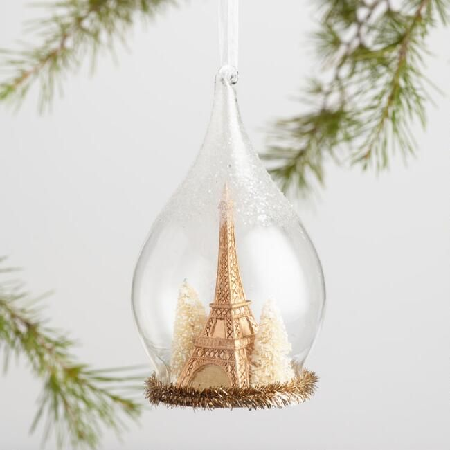 Lend a worldly look to your tree with our handcrafted ornaments