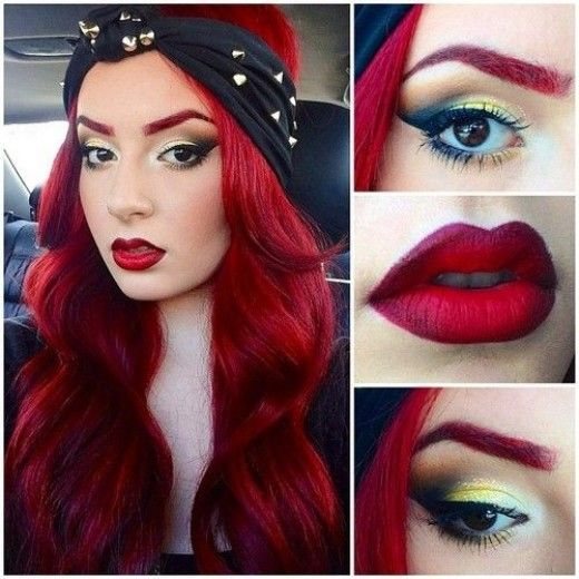 DIY Hair: 10 Red Hair Color Ideas | Manic panic, Hair coloring and ...