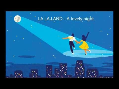 This could never be, you're not the type for me and there's not a spark in sight. What a waste of lovely night 🎶 La la land