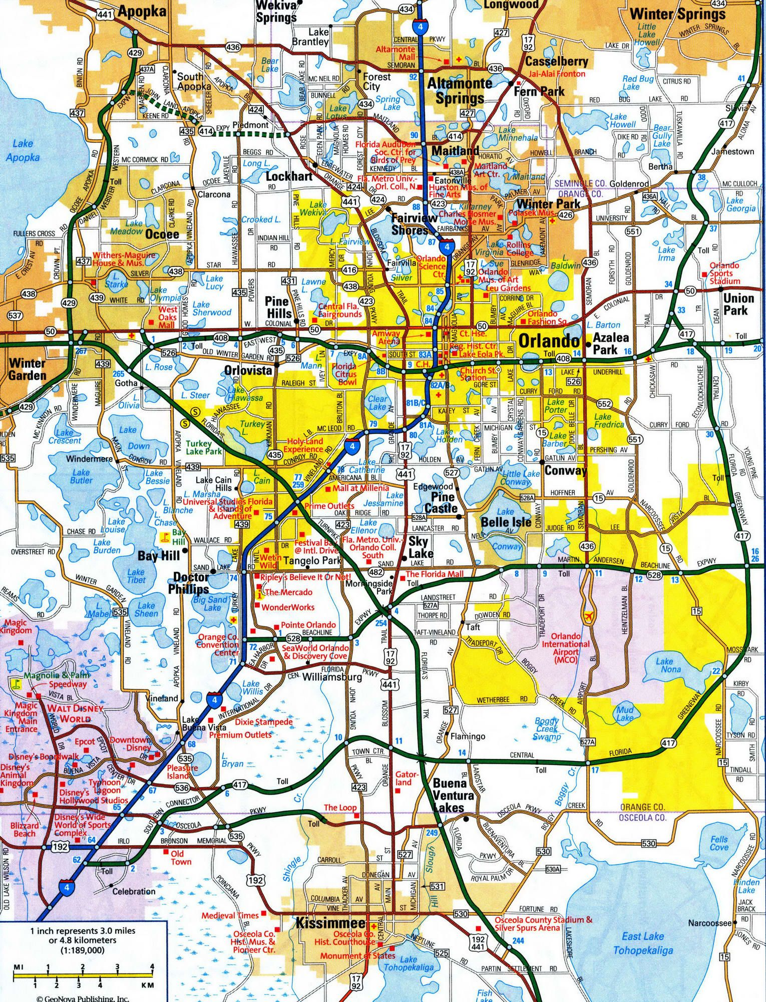 Florida Map Orlando.Image Result For Orlando Highway Map Tattoos Map Highway Map