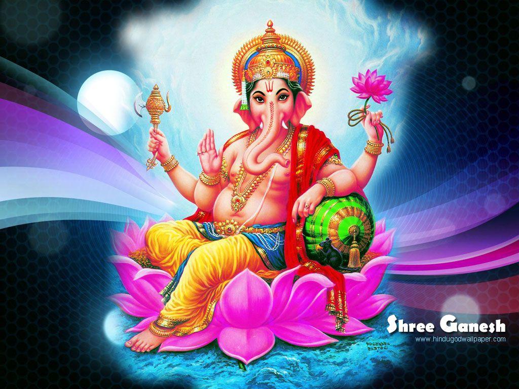 Free Download Shree Ganesh Wallpapers Jai Hanuman In 2019