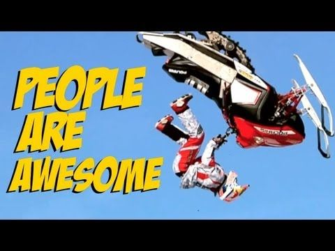 People Are Awesome 2010-13 - YouTube <---watch 3:30!!!! Coolest thing ever!