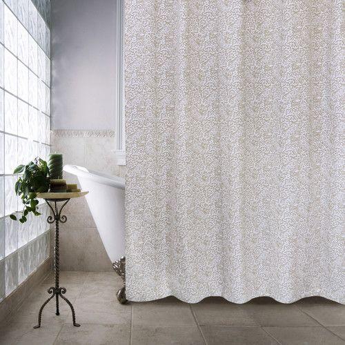 Found it at Wayfair - Metro Farmhouse Cotton Glorian Shower Curtain