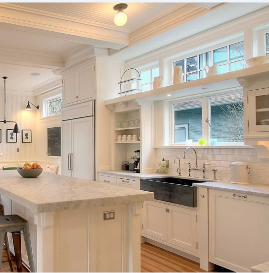 Clerestory Kitchen Windows Decorating Above Kitchen Cabinets Primitive Kitchen Kitchen Remodel