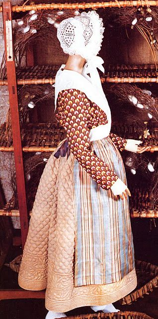 Quilted garments in the Provençal Costume