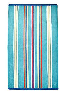 Lauren Ralph Lauren Home Awning Striped Turquoise Beach Towel