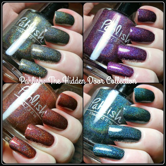 Pahlish: The Hidden Door Collection - Swatches and Review | Pointless Cafe