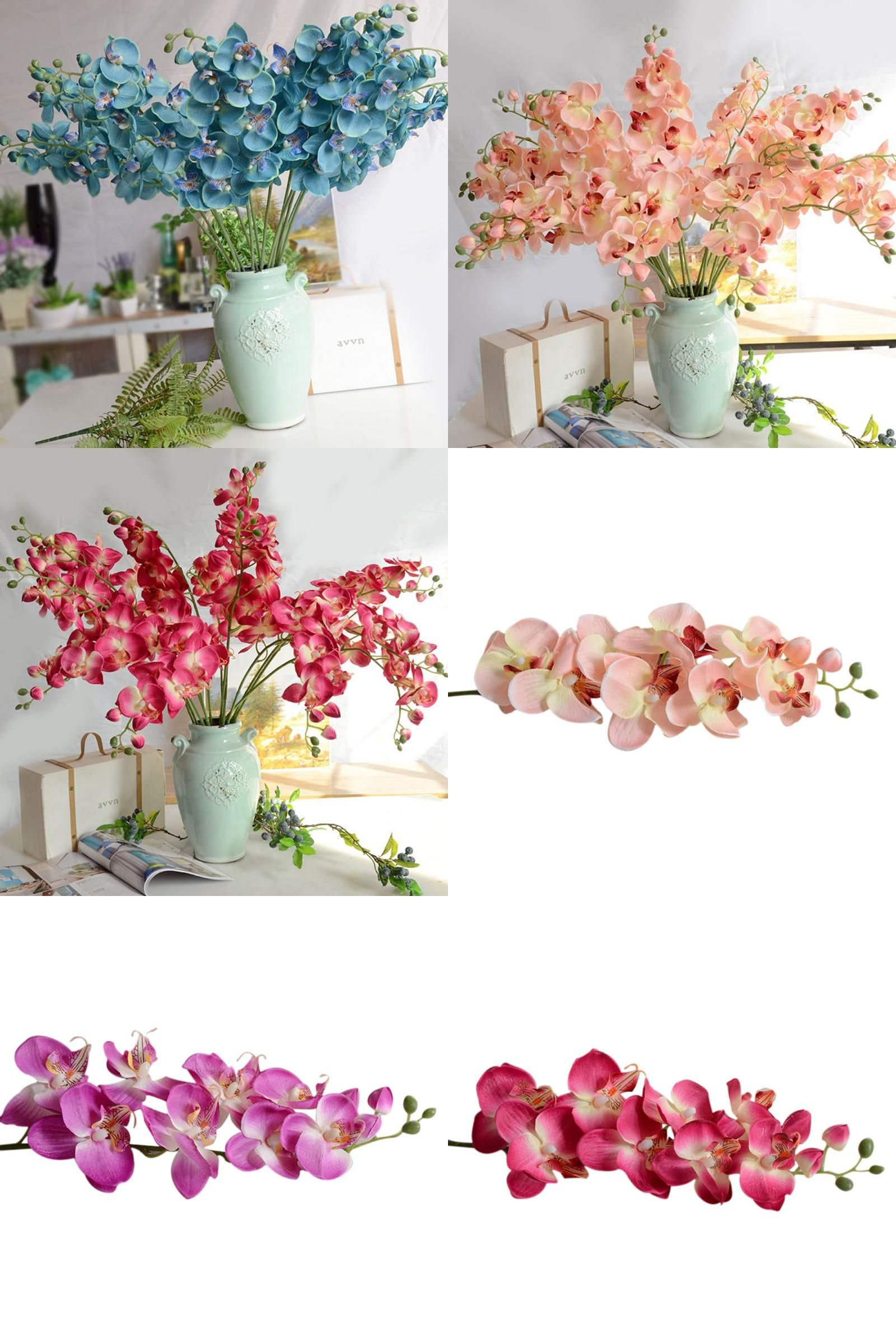 Visit to buy home wedding decoration flower butterfly orchid