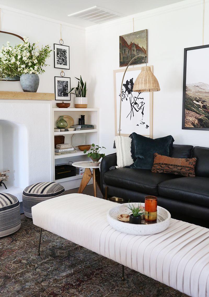 Evergreen House Living Room Reveal Juniper Home Living Room Reveal Living Room Styles Living Room Scandinavian #scandinavian #living #room #furniture