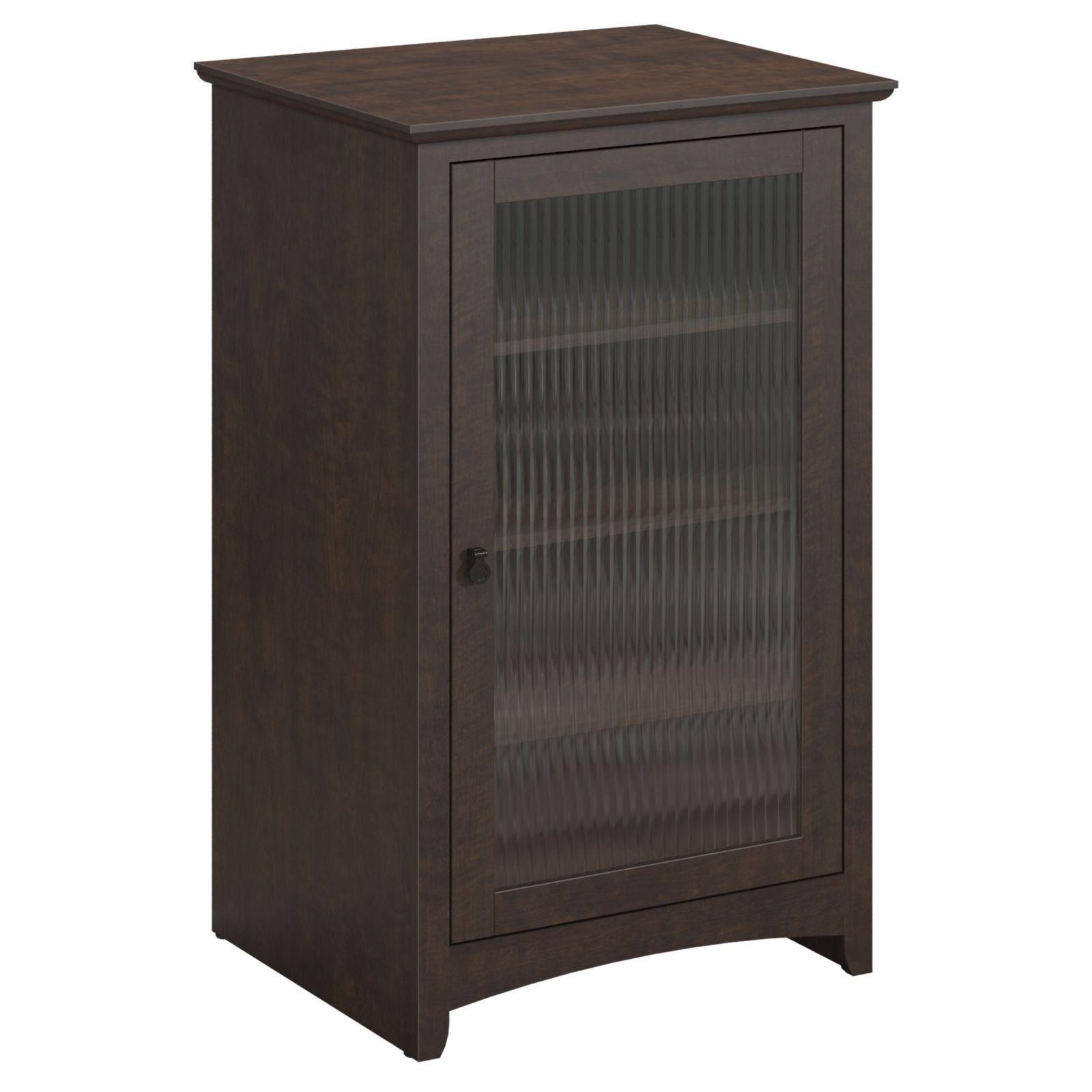 Bush Furniture Buena Vista Audio Cabinet Audio Cabinet Bush Furniture Cabinet