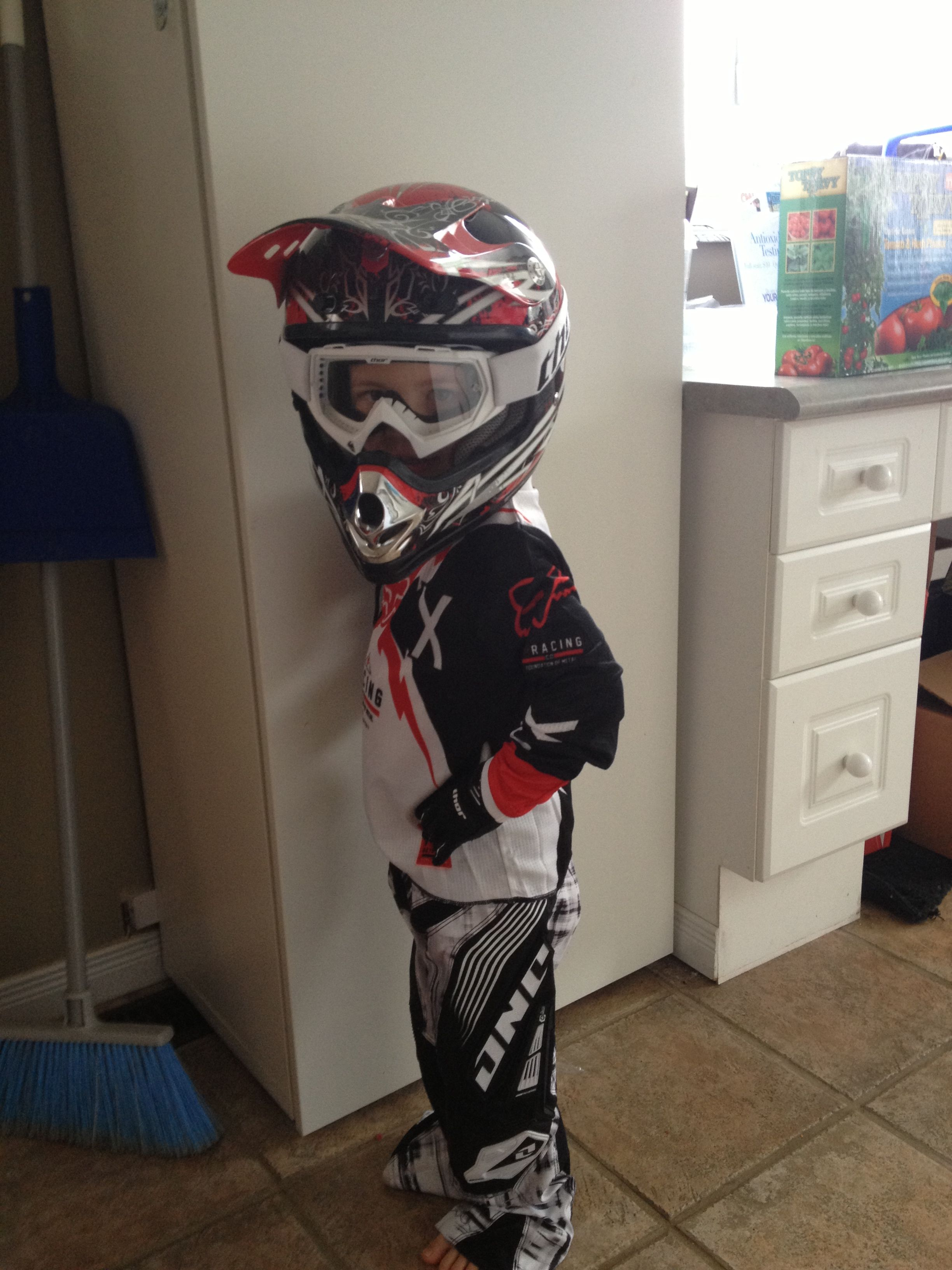 Youth Dirt Bike Boots >> Motocross Gear For Kids My Little Is Obsessed Halloween