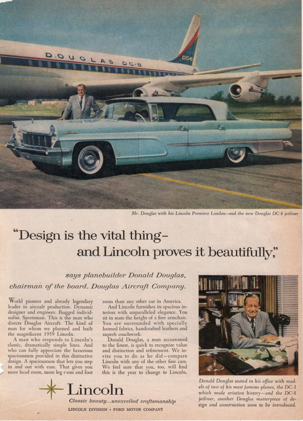 1959 lincoln ad09 lincoln cars automobile advertising
