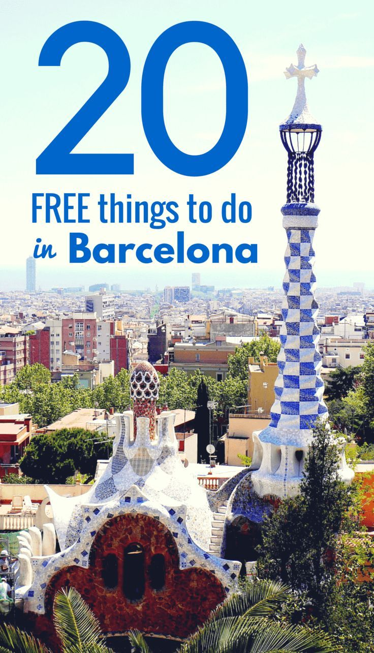 20 Free Things To Do In Barcelona Barcelona Travel Barcelona