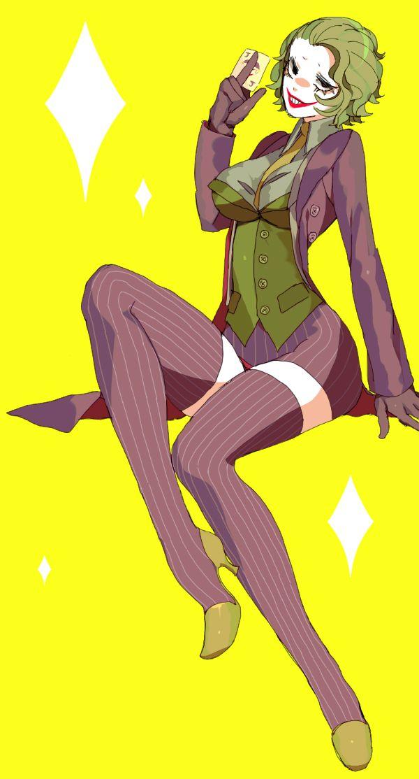 Female Joker Female Joker Joker Drawings Joker Dc Comics