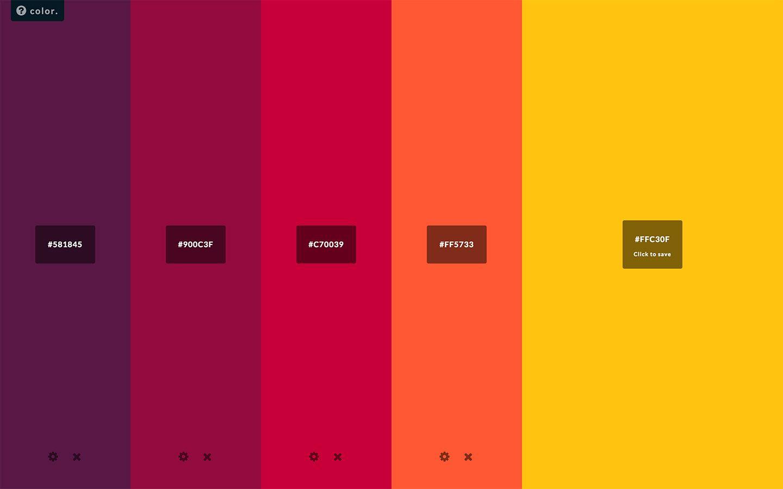 Best Color Palette Generators Html Color Codes Colour