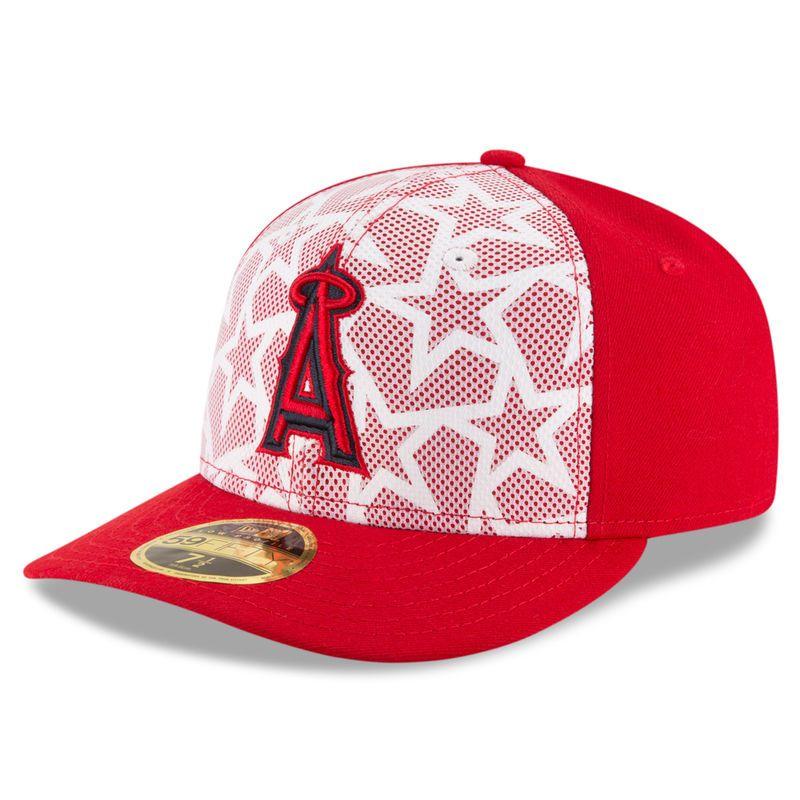 best service e822f 9df95 ... clubhouse hat sports city hats daf59 0155d  shop los angeles angels new  era stars stripes low profile 59fifty fitted hat white red 8f832