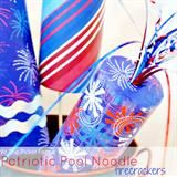 Pool noodle wreaths (40+ ways to use a pool noodle) - Debbiedoo's #poolnoodlewreath