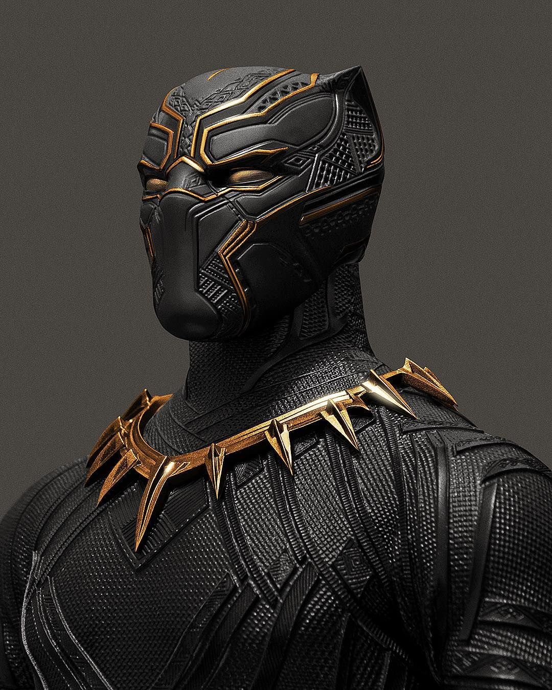 Modified Action Figure Makes The Black Panther Suit Look Even Better