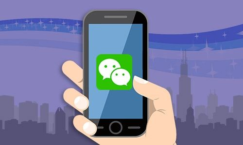 WeChat is the most popular and the largest social network