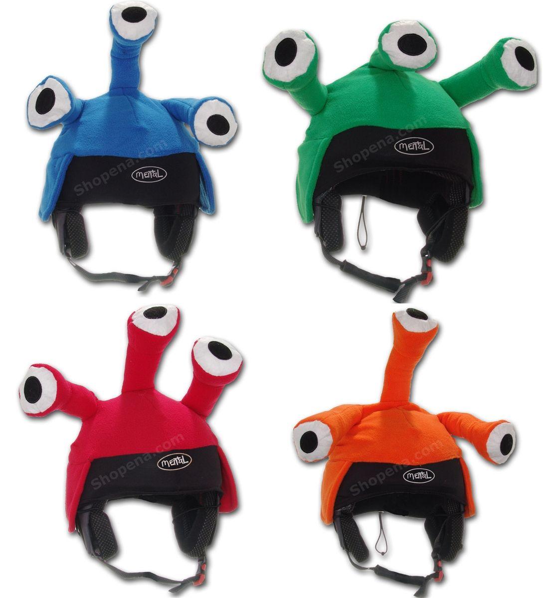 72795d5562ea8 Mental Alien Ski Helmet Cover 4 Colors