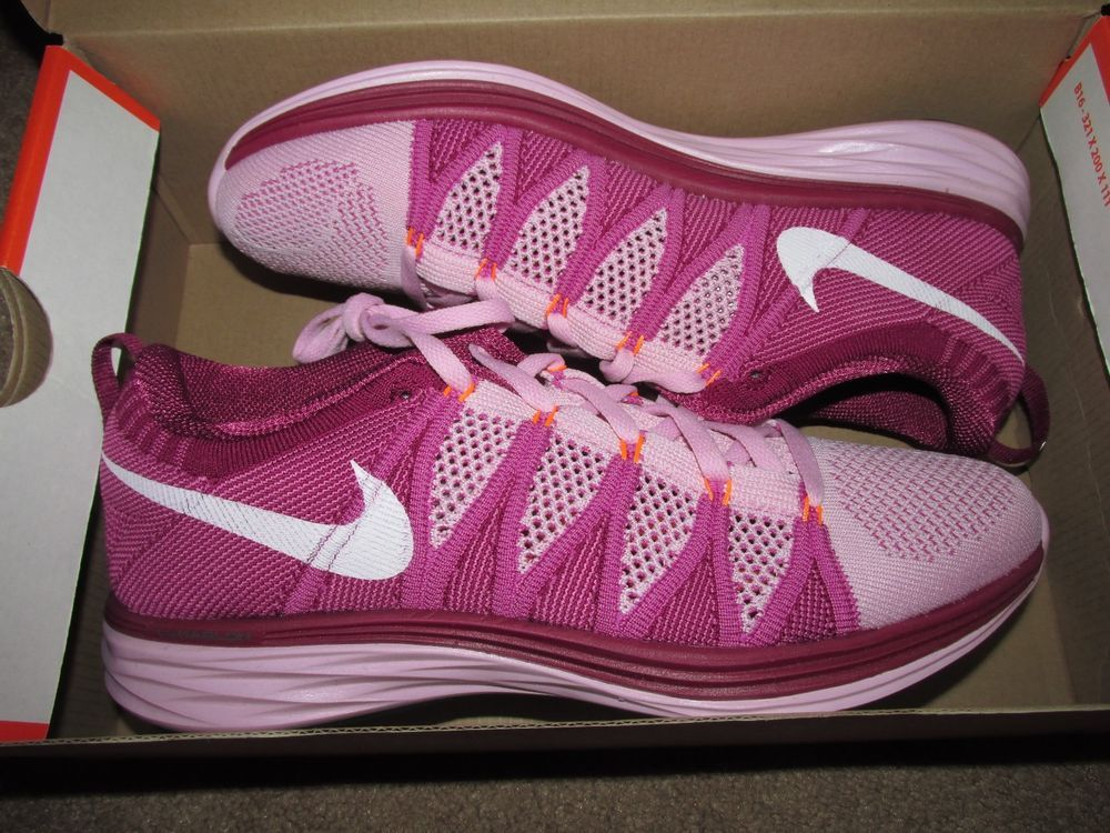 sports shoes 2ea6d f562a Nike Flyknit Lunar2 Womens Running Shoes 9.5 Light Arctic Pink 620658 615   Nike  RunningCrossTraining