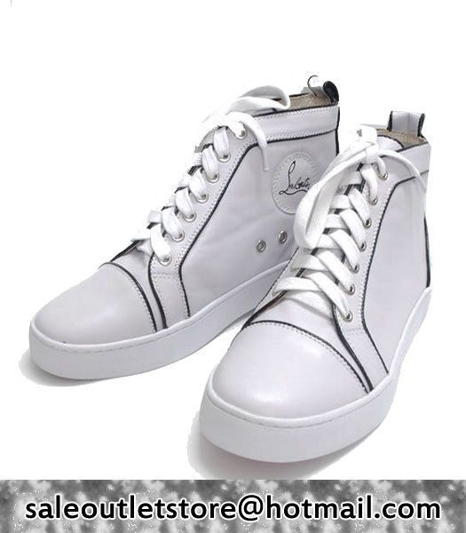super popular a0762 09696 Christian Louboutin Pony #Sneakers White for Men-Ladies ...
