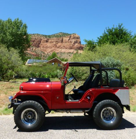 1967 Jeep Cj5 Chevy L79 Corvette Engine Period Correct