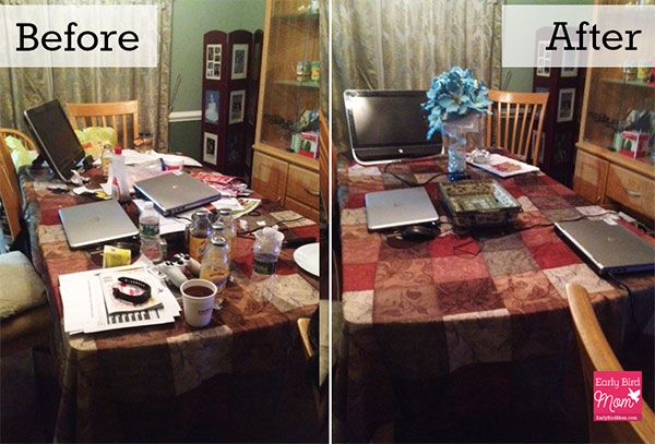 Get inspired to declutter with these before and after - Declutter before and after ...