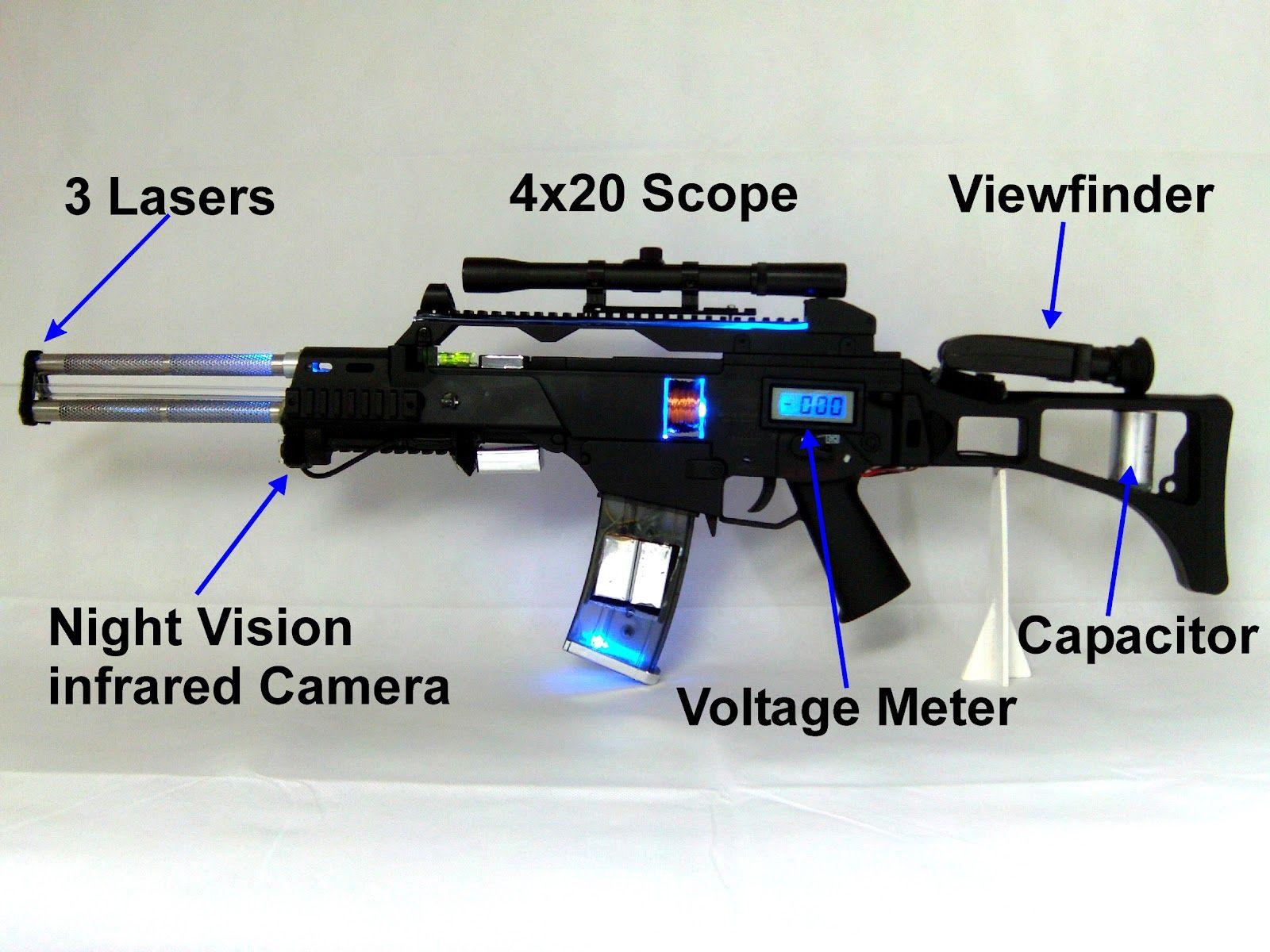G36 coil gun mont maison source internet do it yourself gadgets g36 coil gun mont maison source internet do it yourself gadgets solutioingenieria Images