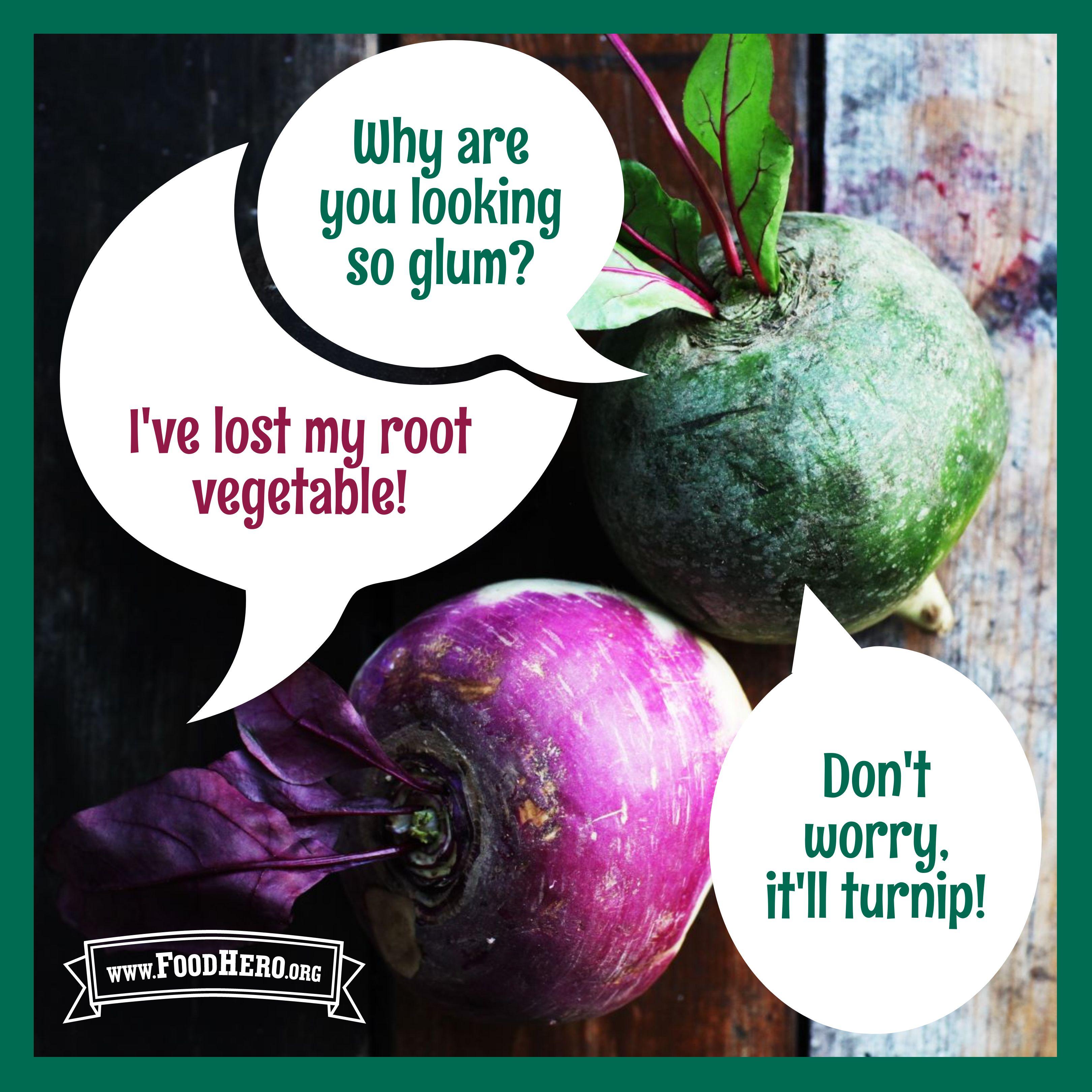 Turnip Joke Turnip Root Vegetables Food Jokes