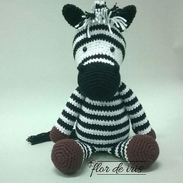 Ravelry: Betje Zebra (modificatie) by Kristel Droog | Cosas para ...