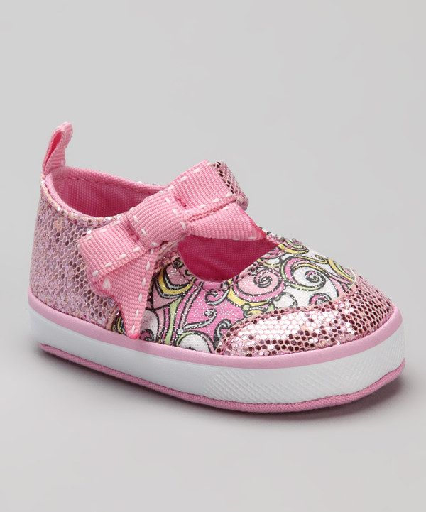 This Natural Steps Pink Lil' Retro Flat by Natural Steps is perfect! #zulilyfinds