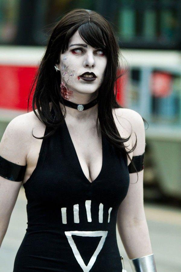 Walking Dead Zombie Makeup for halloween.no eyes #halloween #girls ...