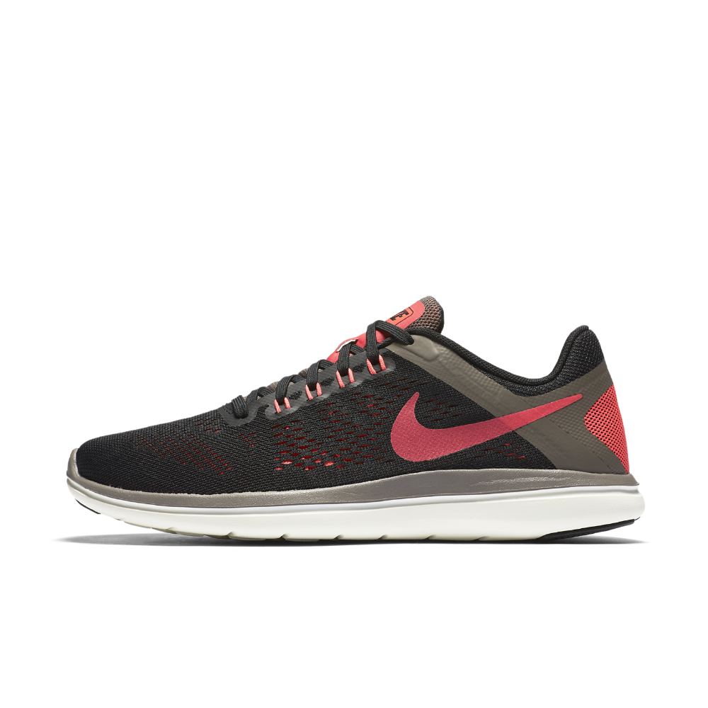 sports shoes f011e 8828c Nike Flex 2016 RN Women s Running Shoe Size 11.5 (Black) - Clearance Sale  Born