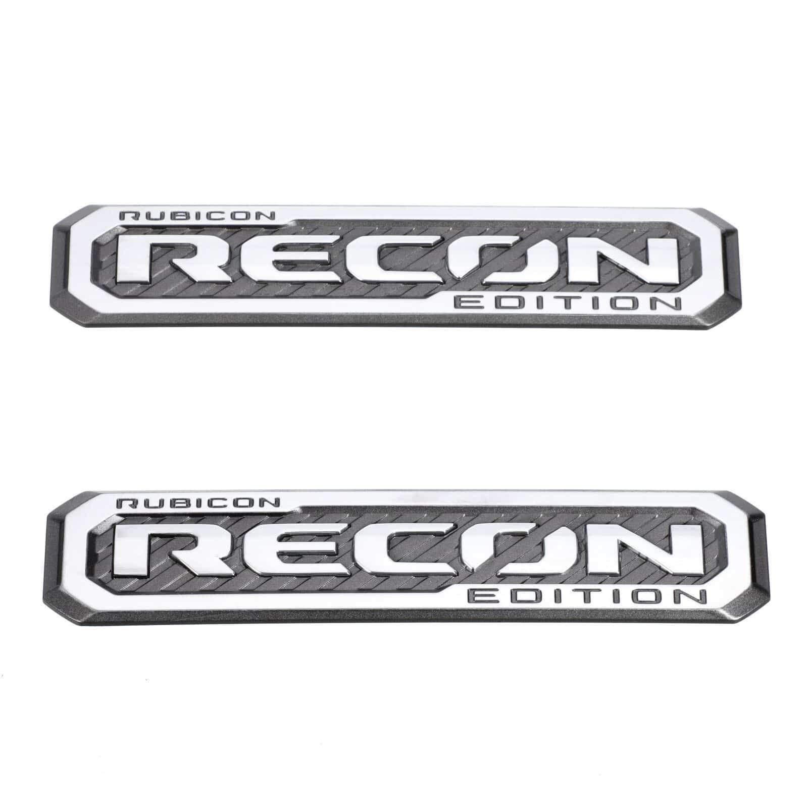 2017 2018 Jeep Wrangler 2 Rubicon Recon Emblem Badge Nameplate