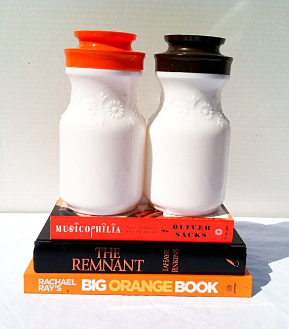 Vintage 1950s Maxwell House Coffee Jars Milk By