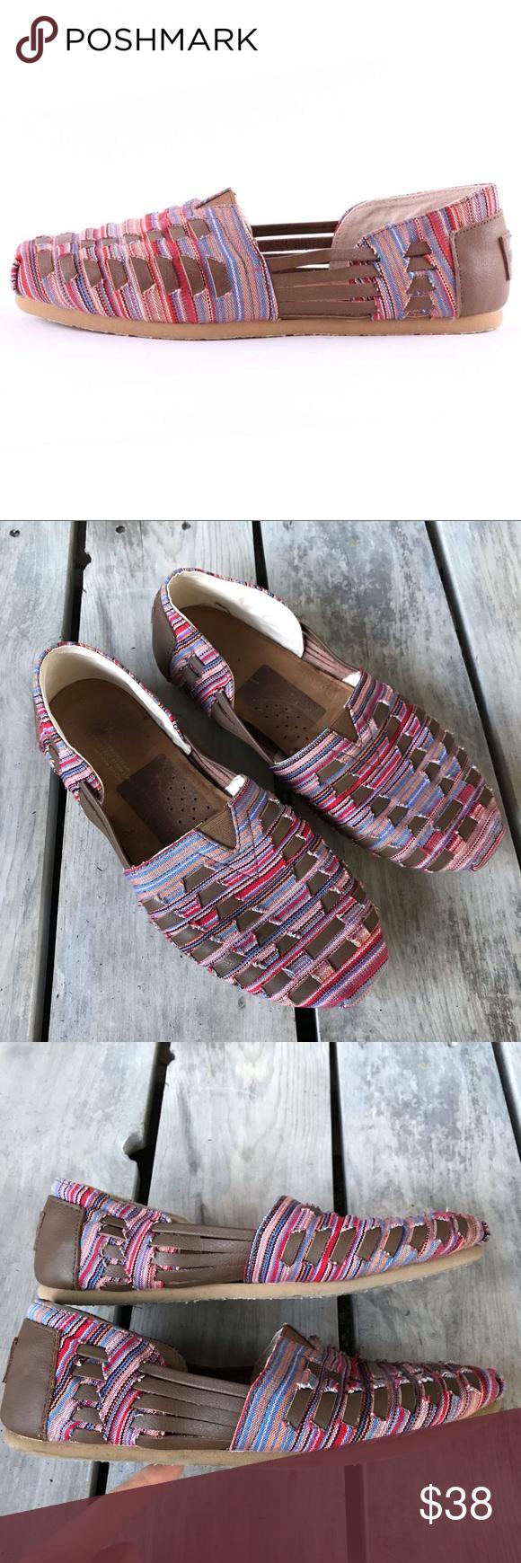 b3062c7048441 TOMS Women s Huarache Alpargata Slip-On Size 9.5 TOMS Women s Huarache  Alpargata Slip-On