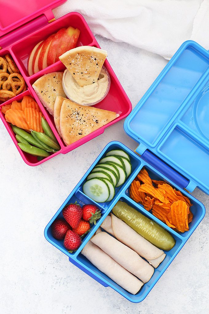 2 Weeks of Healthy School Lunch Ideas images