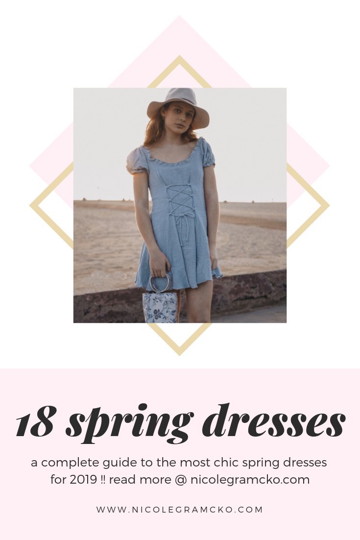 5aa344dbbe 18 spring dresses to shop now for spring 2019! All of my favorite spring  2019