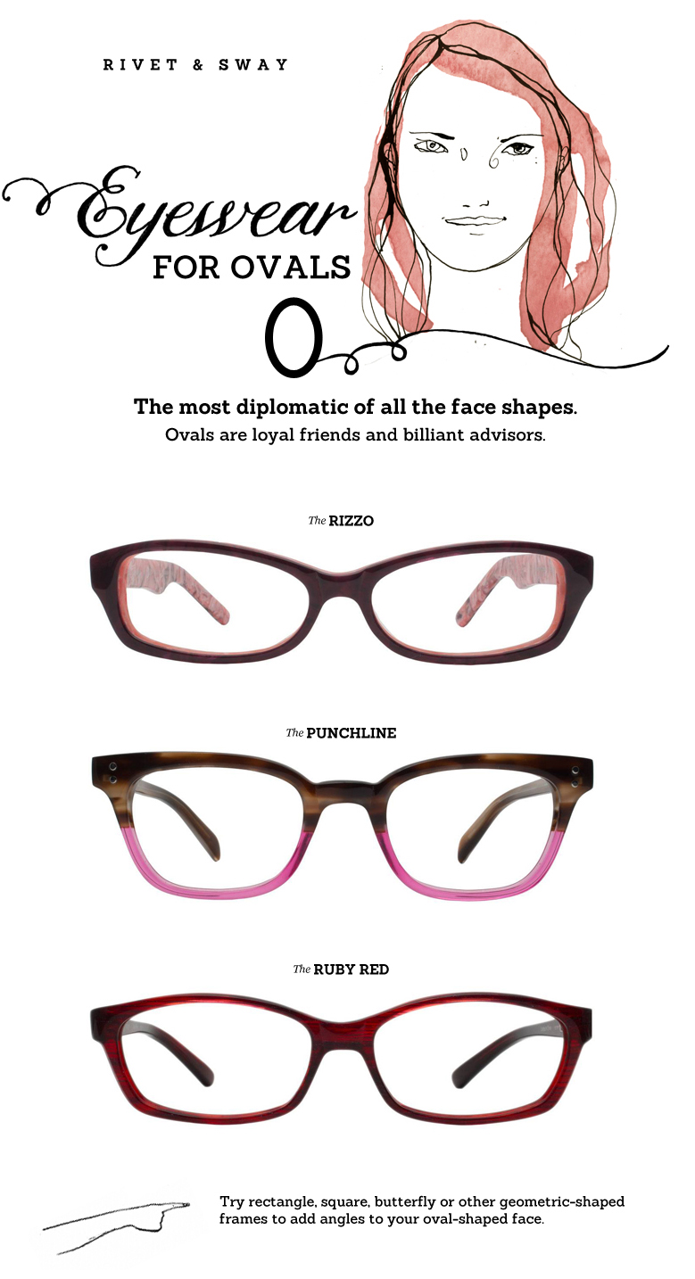 eyeglasses for oval face shapes--I\'m getting new glasses today... I ...