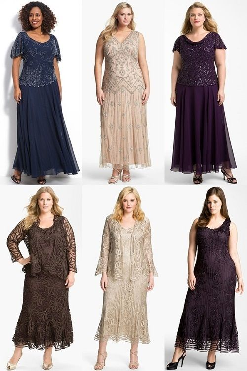 plus size dresses to wear to a wedding with sleeves - Google Search ...