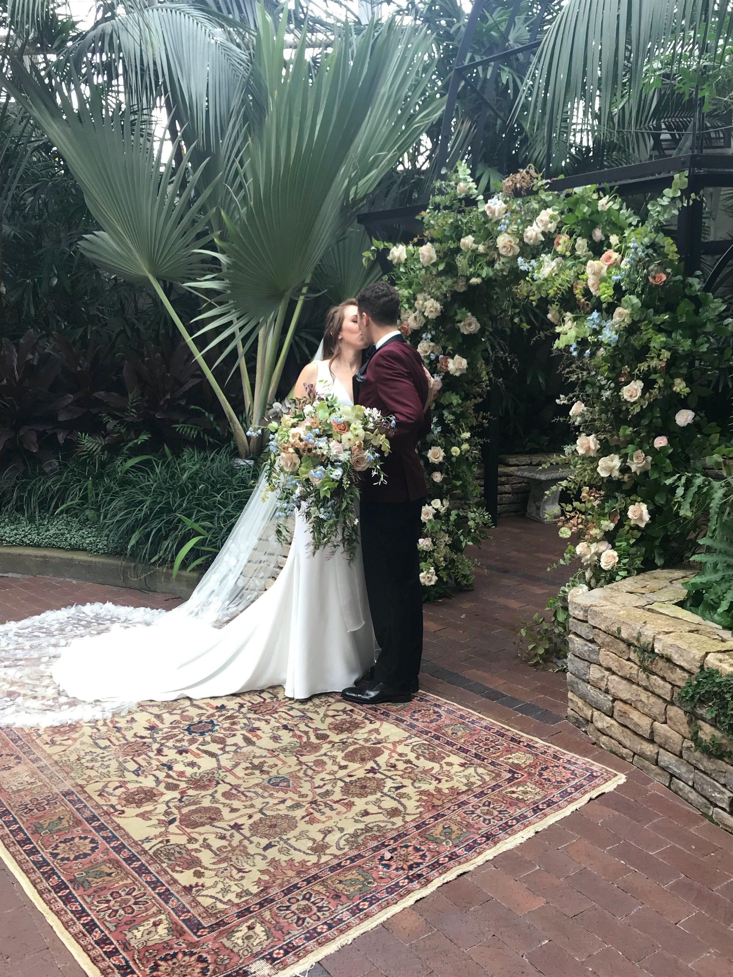 Emily Patrick Evergreen Flowers Wedding Wedding Flowers