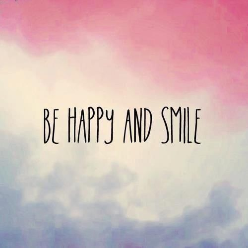 Be Happy And Smile Life Quotes Quote Happiness
