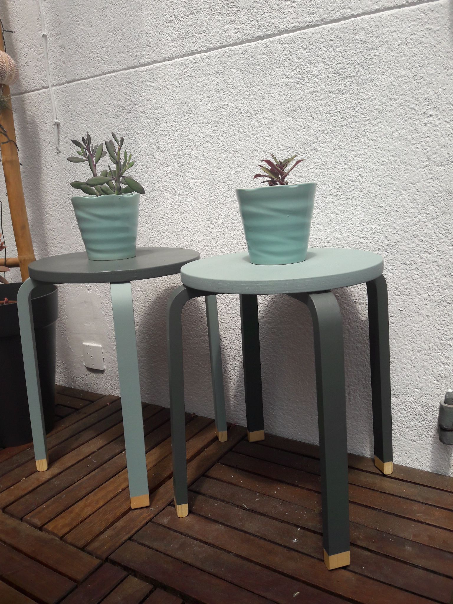 hack ikea gris fluo green ideas for the house pinterest ikea hack farrow ball and stools. Black Bedroom Furniture Sets. Home Design Ideas