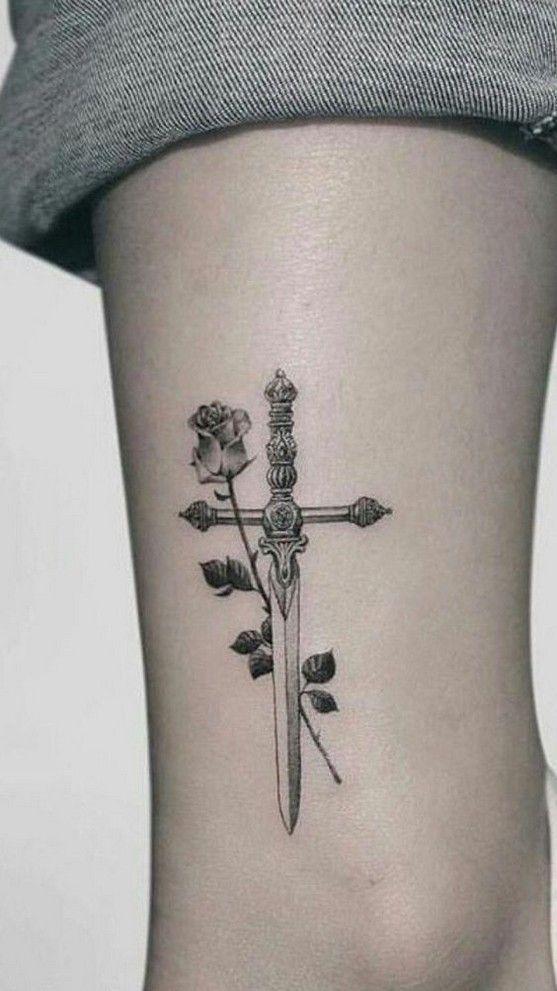 Photo of 50 coolste Schwert, Dolch, Messer Tattoos inspirierende Ideen für Frauen und Männer … – …